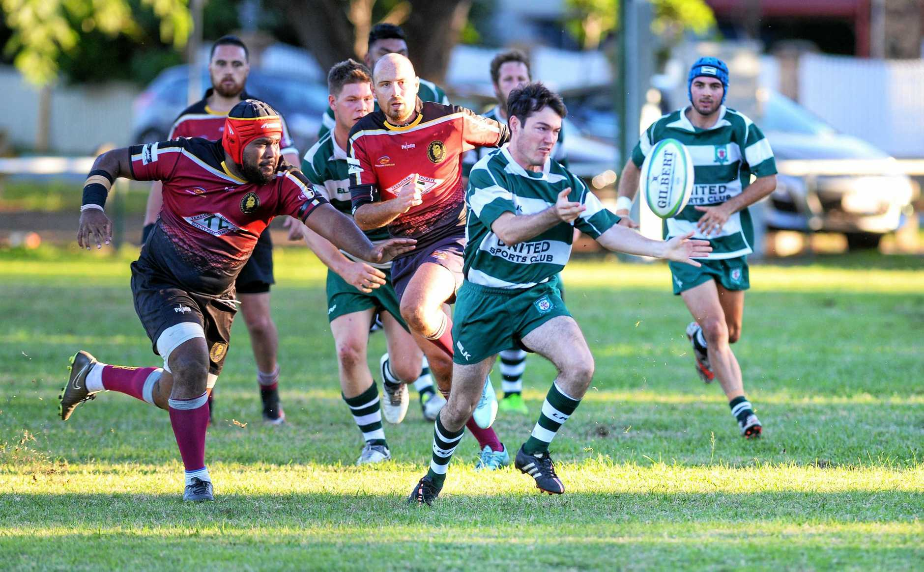 FIRST POINTS: The Ipswich Rangers defeated Caboolture in both grades at Woodend Park.