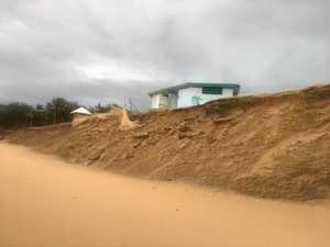 Community pushes for rock wall to protect heavily eroded beach