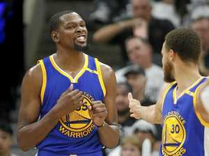Warriors too strong as Durant runs wild