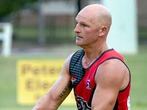 Hervey Bay Bombers AFL Club - Dean Stanley. Photo: Valerie Horton / Fraser Coast Chronicle