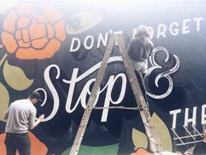 FIRST COAT: Toowoomba reacts to final festival murals