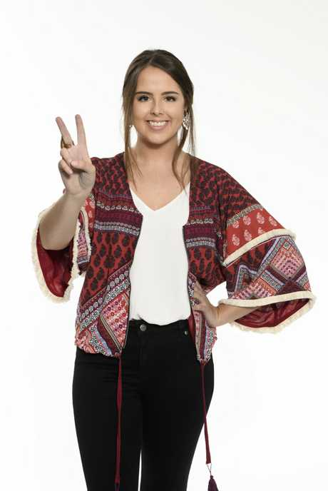 Grafton singer Rachael Noakes will compete in the knockout round of The Voice on Monday night. Supplied by Channel 9.
