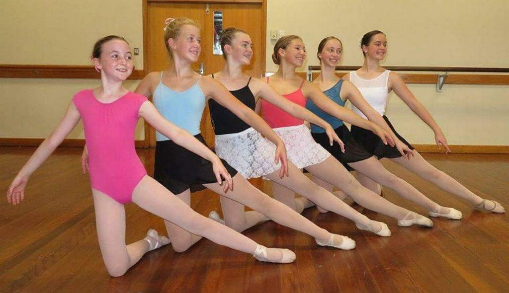 Heading overseas to dance is (from left) Brianna Skehan, Ainsleigh Rule, Emma Celledoni, Holly Bradley, Evie Ford and Schaila Morris.