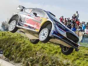 Ogier lands milestone WRC win