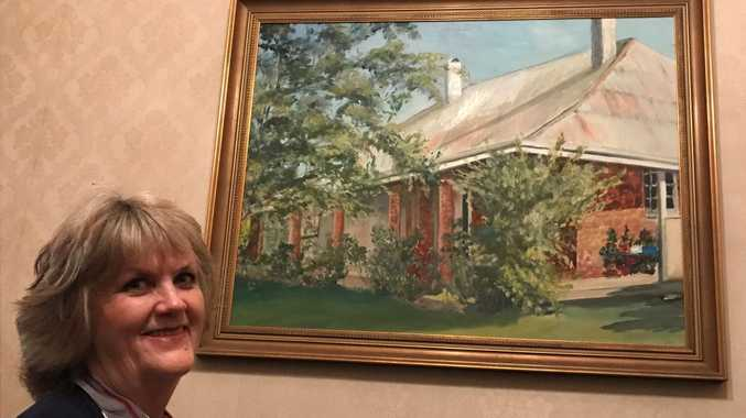 FULL OF HISTORY: Trisha Moulds is owner of the historic Tinana state known as Rosehill. The beautiful home is currently for sale.