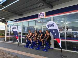 HARD WORKOUT: The F45 team is keen to start putting local gym members to work.