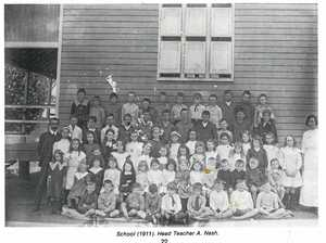 Two Mile first school in Widgee shire