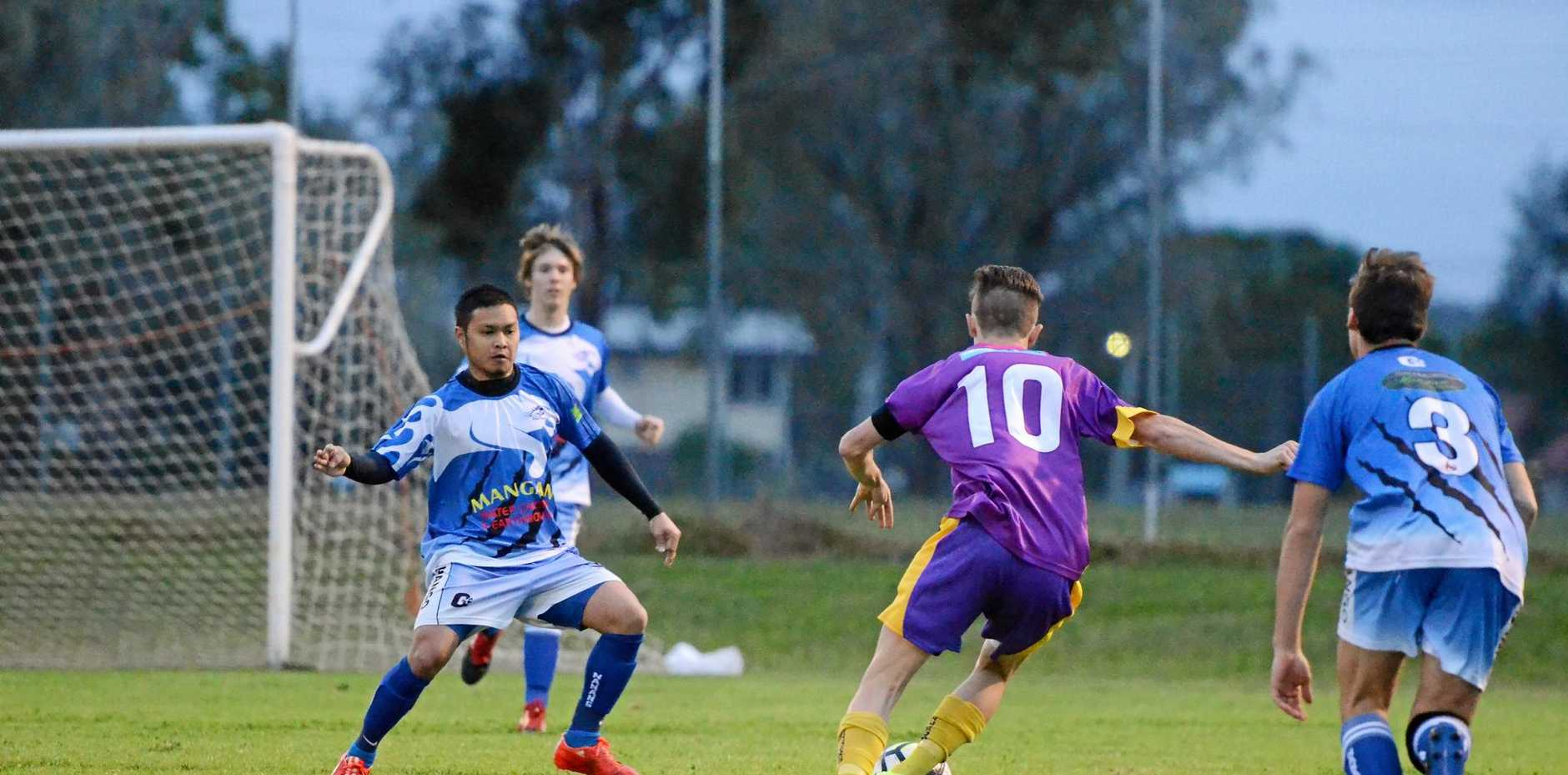 RIVALS: Gunners won the first clash this season played in Kingaroy.