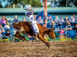 Gympie Show rodeo action