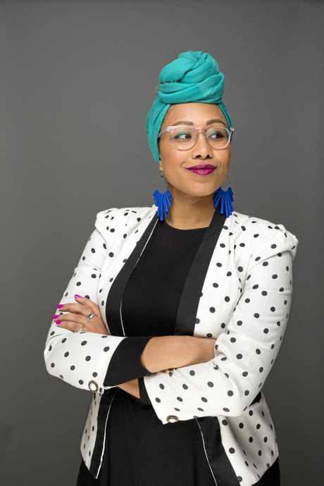 Yassmin  Abdel - Magied.Photo: Simon Hewson