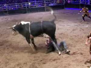 Cowboy tells of terrifying moment bull tore liver