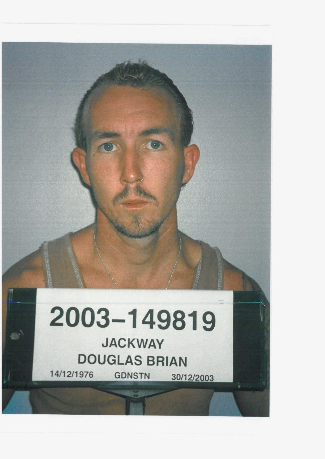 Douglas Brian Jackway will remain in jail indefinitely