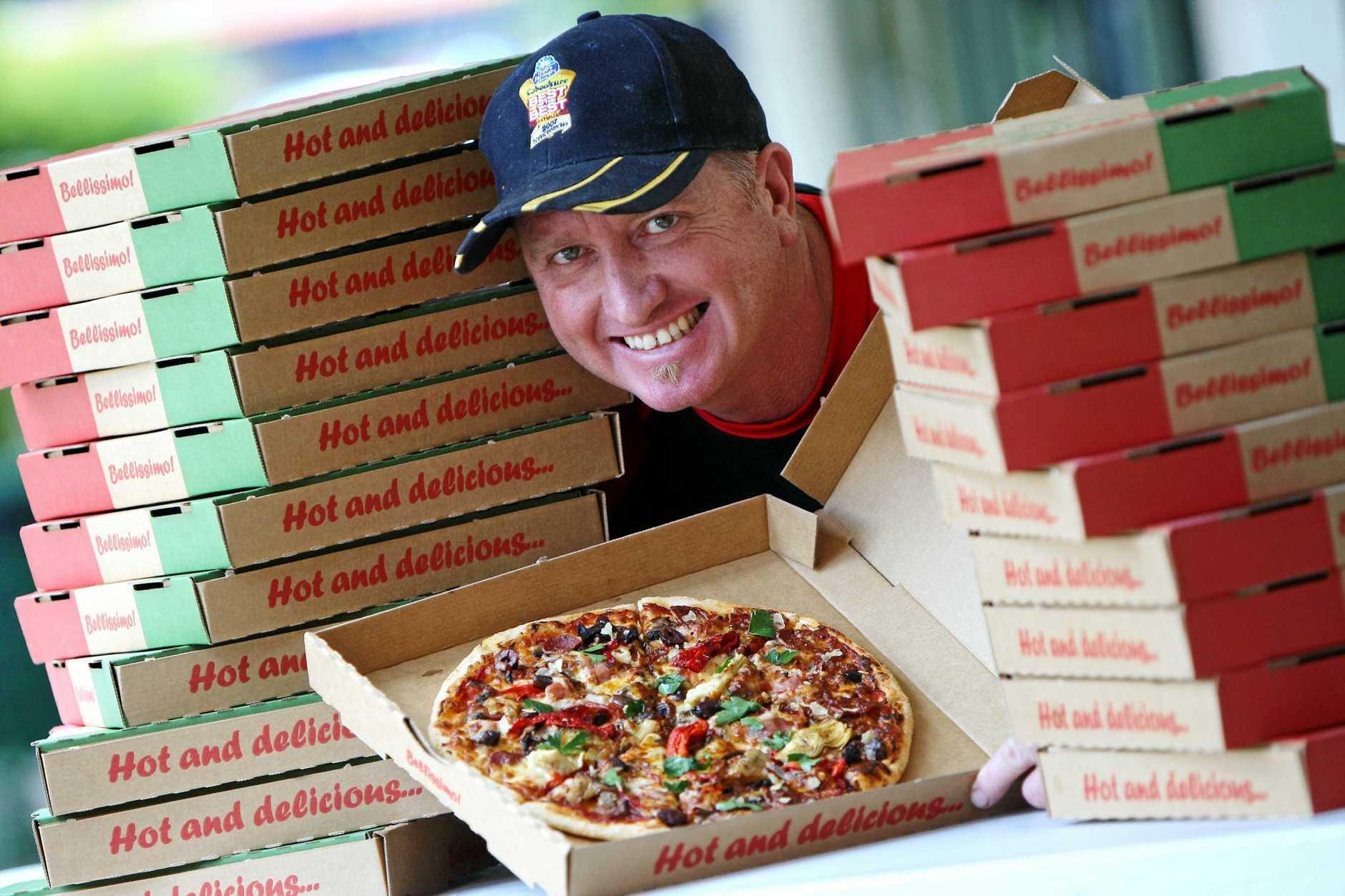 Tony Ferris owner of Fratelli Pizza North Buderim.