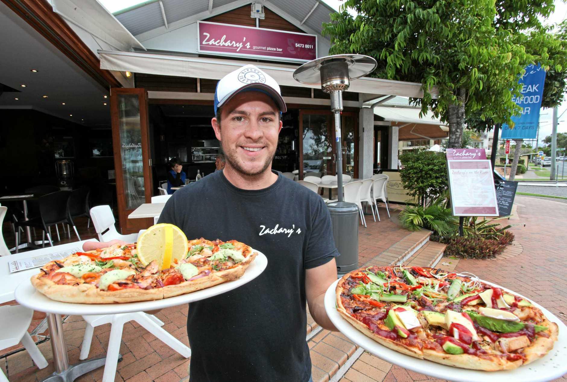 Kevin Chilton of Zachary's Gourmet Pizza Bar, Noosaville.