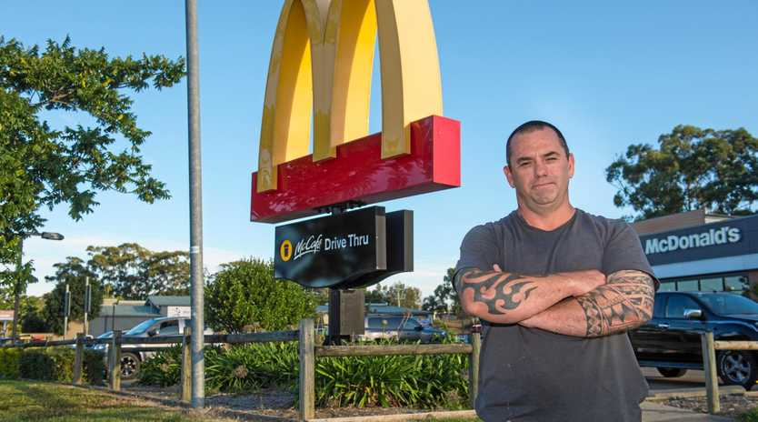 Simon Towler claims he had been seeking reimbursement from the McDonald's insurance company for almost a year.
