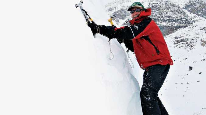 Francesco Marchetti was a keen and experienced mountain climber.
