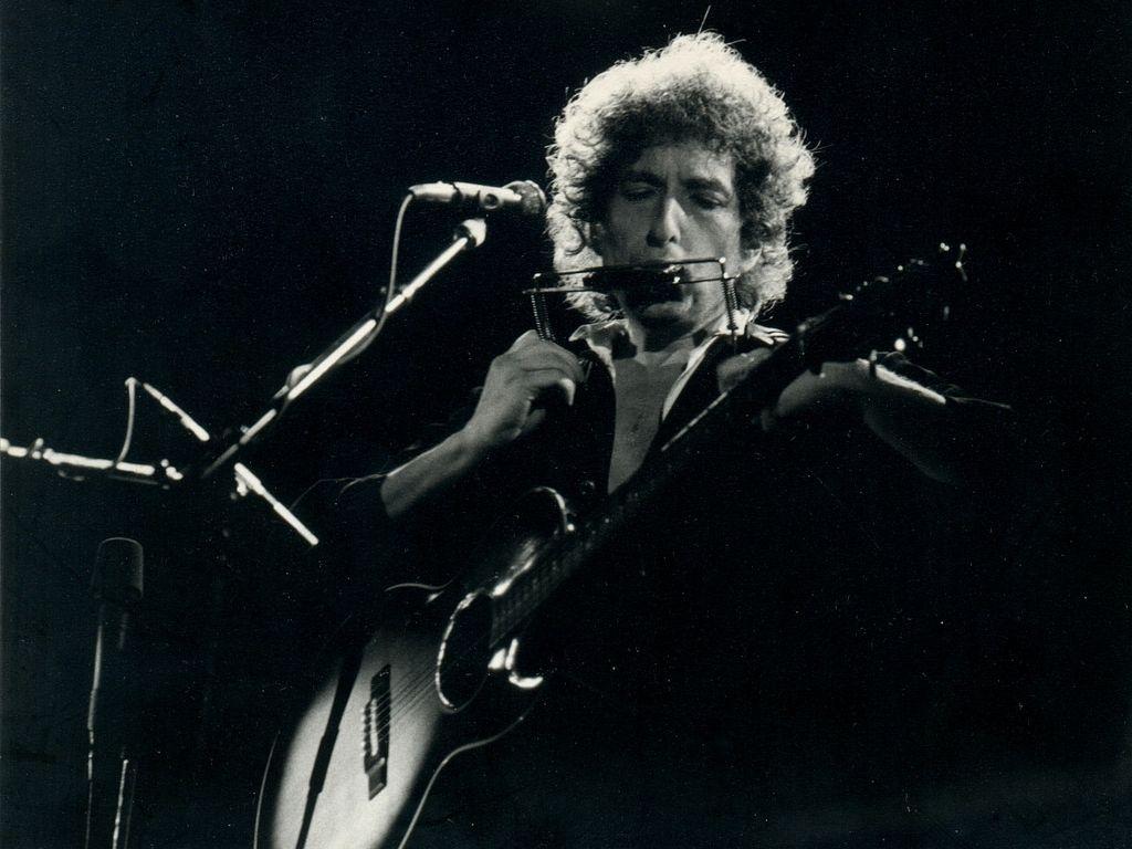ROCK LEGEND: Bob Dylan.