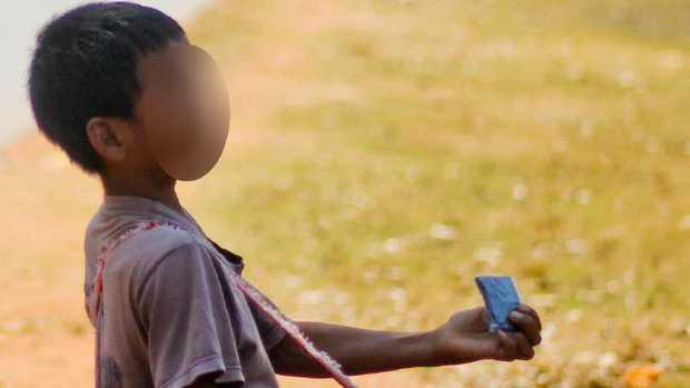Cambodia has a huge child trafficking problem. Picture: Gavin Fernando