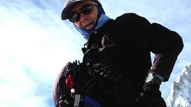 Francesco Enrico Marchetti, 54, died while descending Everest. Picture: Facebook