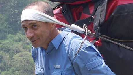 Francesco Enrico Marchetti has died after suffering from altitude sickness. Picture: Facebook