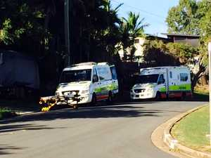 Man falls from scaffolding at West Gladstone