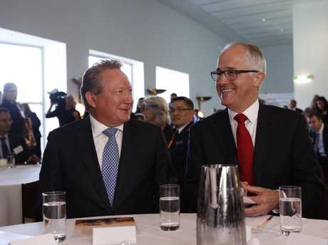 Andrew and Nicola Forrest unveiled a significant charitable donation that sets a historic benchmark, in the presence of political leaders, Prime Minister Malcolm Turnbull and Opposition leader Bill Shorten.