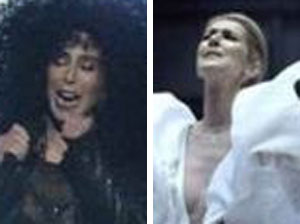 Cher, 71, and Celine Dion wow world at Billboard Awards