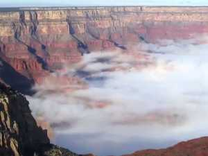 Grand Canyon gets swamped by natural phenomenon