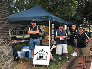 MEN'S SHEDS: Members of the Gerringoing Men's Shed in NSW, which are one of 105 sheds to receive Federal Government funding in the May 2017 funding announcement.