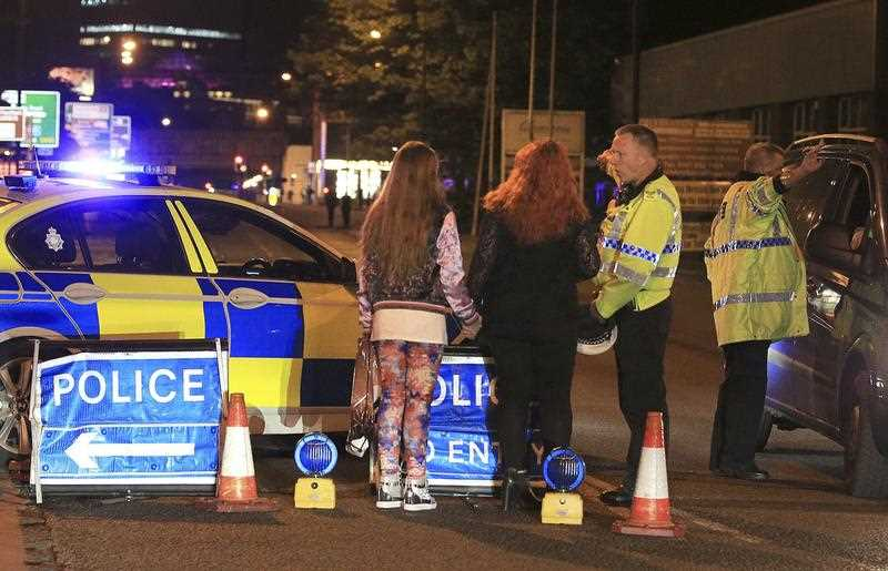 There have been multiple confirmed deaths after 'explosions' heard at Ariana Grande concert in Manchester