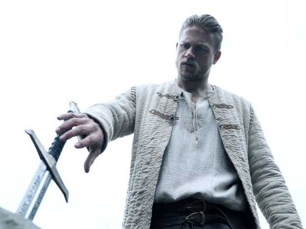 Beckham makes acting debut in 'King Arthur: Legend Of The Sword'