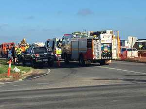 Man taken to hospital after crash at notorious intersection