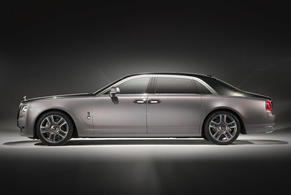 Rolls Royce Ghost Extended Wheelbase