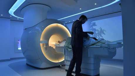 Toowoomba Hospital has its first MRI machine. May 2017
