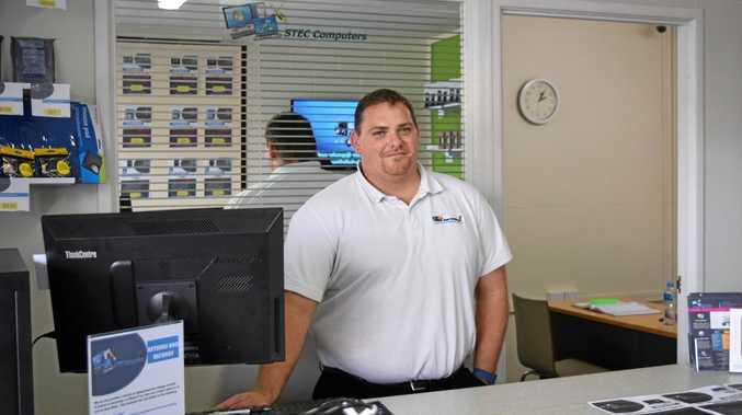 START UP: Owner of new business, STEC Computers, Scott Vanderwiel.