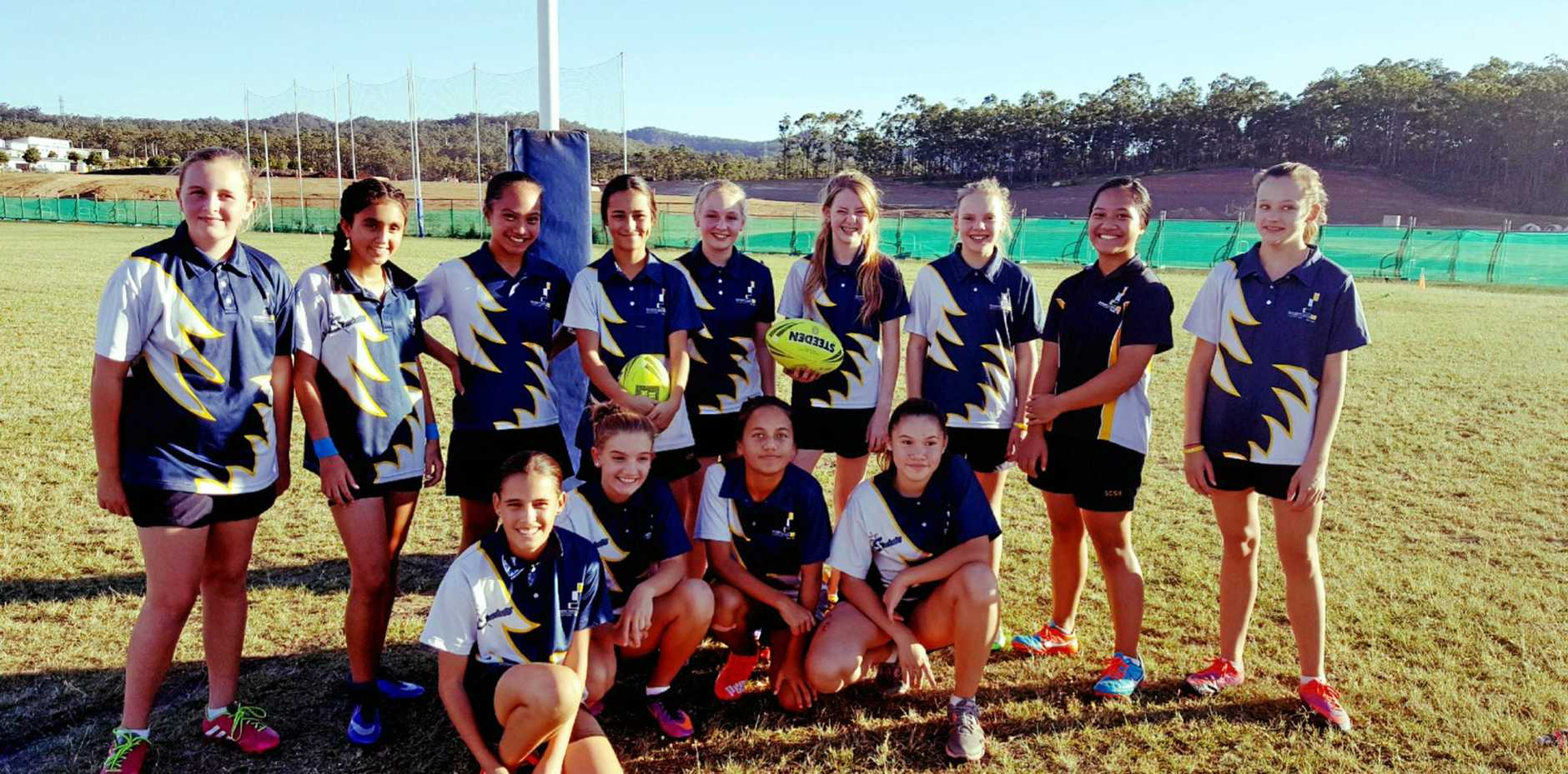 Springfield Central SHS Year 7/8 girl's touch team take out the Ipswich district Metro Cup Finals.