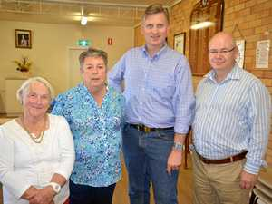 LNP holds meet the candidate in Warwick