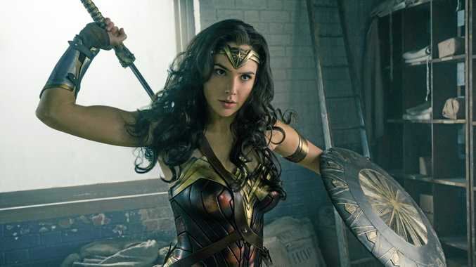 AMAZON: Actress Gal Gadot in a scene from the film Wonder Woman.