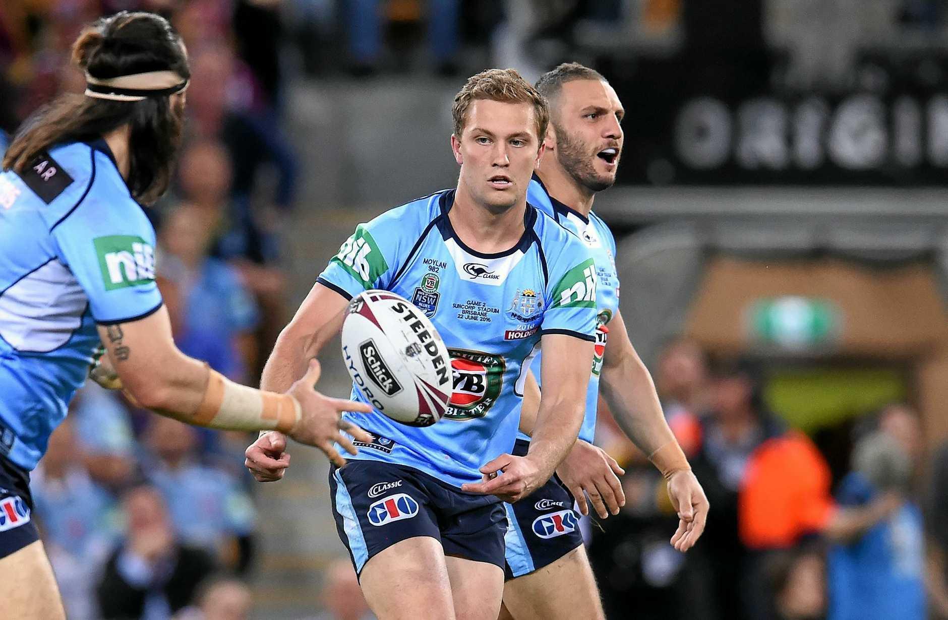 Matt Moylan of the NSW Blues in last year's series.