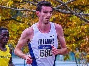 IN HIS STRIDE: Toowoomba runner Patrick Tiernan races for Villanova University.