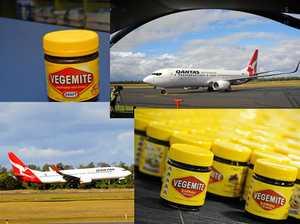 Qantas and Vegemite, name a more iconic duo...