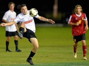 CUP RUN: Caloundra skipper Mackenzie Smith in FFA Cup action against Sunshine Coast Fire a few seasons ago.