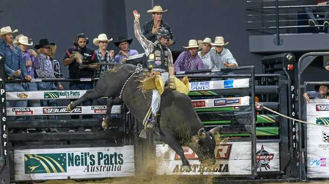 Troy Wilkinson, on Tough Task at the PBR Cairns Invitational in 2016, has been riding well this year.