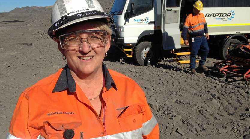 CTITICAL: Michelle Landry MP says the State Government needs to make a decision on Adani.