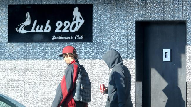 Club 220 in Penrith, where Cassie Sainsbury is alleged to have worked.