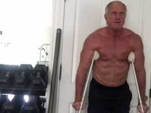 Greg Norman shows off fit body on Instagram