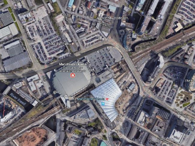 Manchester Victoria station was evacuated after the explosion at the arena adjacent.