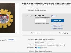 Really? $800 for a Woolworths' Marvel Super Disk?