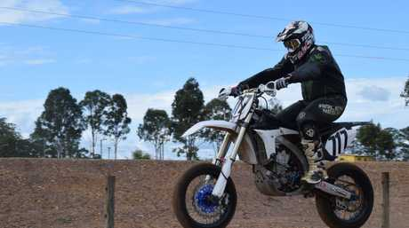 Riders test the newly-opened Fraser Coast Supermoto track at Tinana. The track will host its first event on June 4.