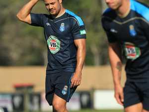 Jarrad Hayne at NSW State of Origin training at